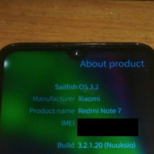Redmi note 7 Sailfish OS