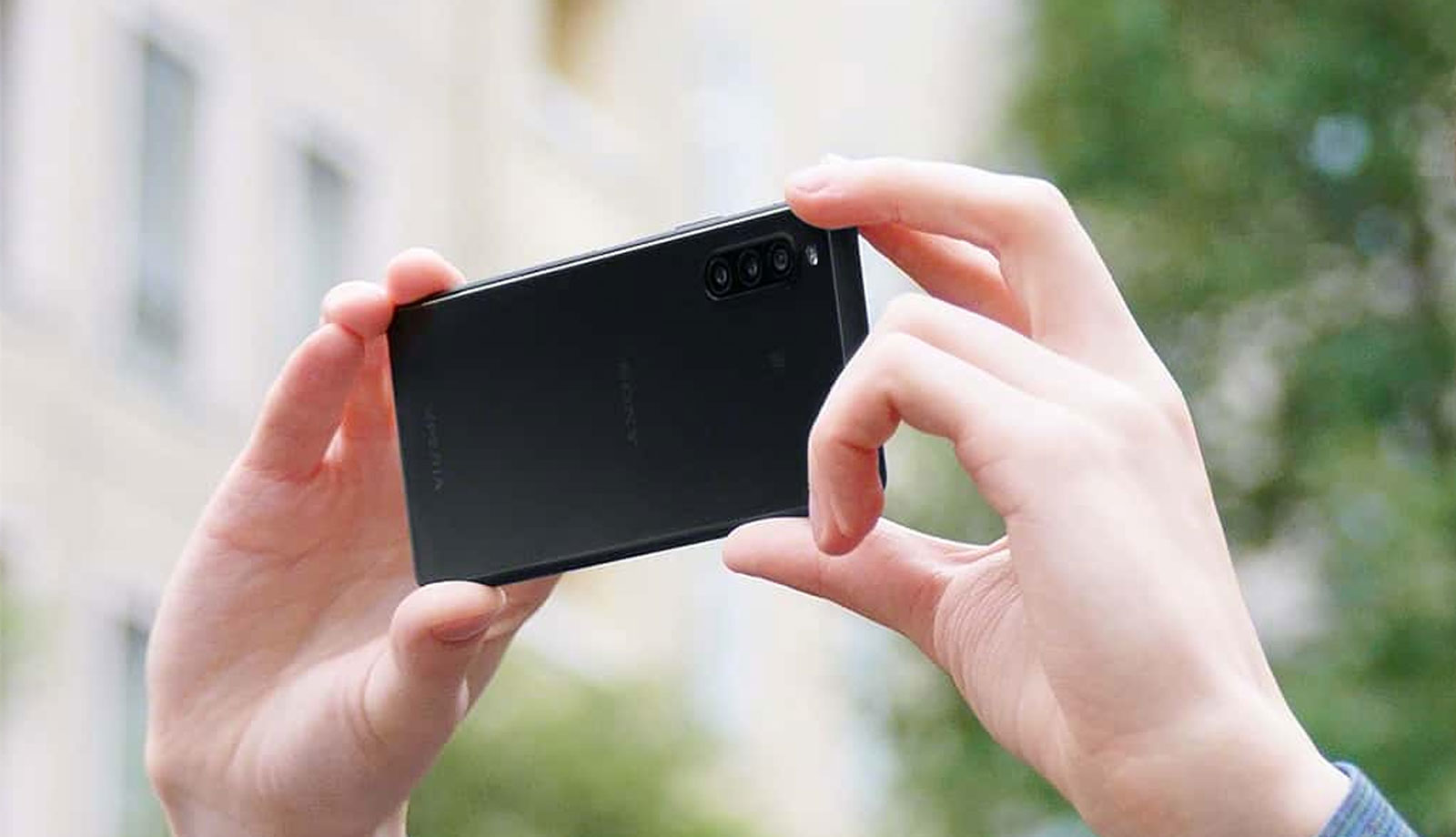 hands on Xperia 10, shooting