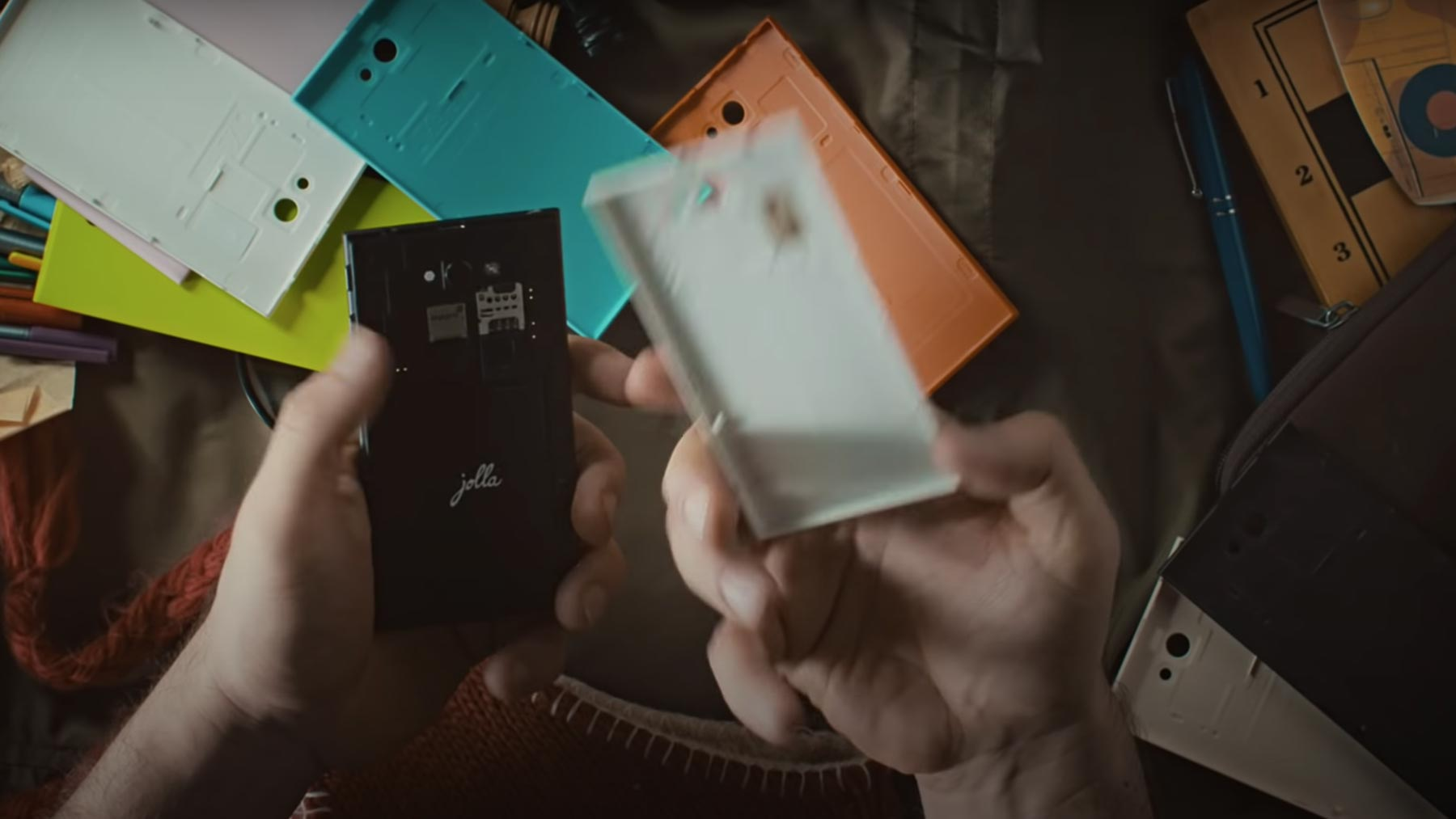 Jolla phone with different TOH