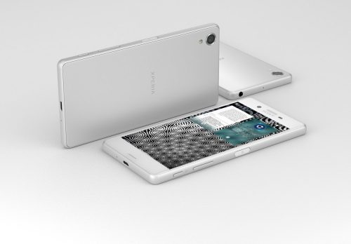 sony xperia jolla white fronte rendering